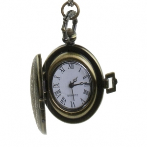 Steampunk Pendant Watch