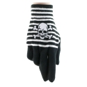 Skull & Bones Stripes Gloves