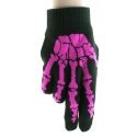 Bone Hand Gloves Pink
