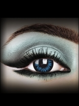 Cool Blue Dolly Eyes (pair)