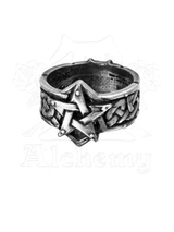 Celtic Theurgy-Ring - Size T (19.5mm)