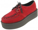 Red Suede Creepers