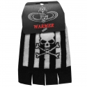 Skull-Stripes Gloves